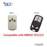 Remplacement Ptx-4 - batteries à télécommande de porte ATA du garage Ptx4 comprises