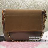 Новая конструкция стороны сумки мода леди сумку с цепью стиле высокого качества полиуретановая сумка Sh276