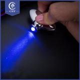 LEDとの昇進ピーナツ形のキーホルダーPVCゴム製プラスチックKeychain