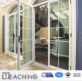 Нутряная раздвижная дверь UPVC с Tempered прокатанным стеклом Pd029