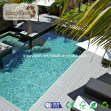 Hot of halls Waterproof Wood plastic WPC Composite Decking