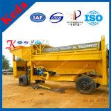 Planta completa de oro y diamantes aluvial de la planta de lavado de los proveedores y fabricantes