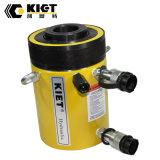 Cilindro hidráulico do atuador oco ativo dobro para máquinas de levantamento