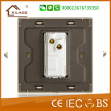 Interruttore elettrico della parete del grande tasto 1gang 1way