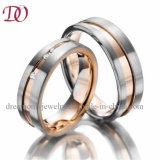 OEM/ODM Fabriek van de Juwelen van de Ring van de Trouwring van de manier de Naar maat gemaakte