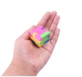 Mini buntes geometrisches Form-Puzzlespiel-Plastikspielwaren für Schule-Kinder