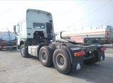 HOWO 6X4 420HPのトラクターヘッドトレーラーヘッド索引車