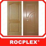 HDF Rocplex la peau de la porte de la Malaisie, la peau de porte en bois de placage