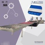 PVC+ASA/PMMAの波形の屋根ふきのシート押し出し機