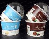 Buntes Eiscreme-Speicher-Nahrungsmittelgrad-Papiercup