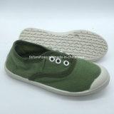 子供(HP1214-3)のためのカスタマイズされた高品質の子供のズック靴の偶然靴