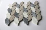 2017 새로운 디자인 자개 쉘 혼합 대리석 유리제 모자이크 타일