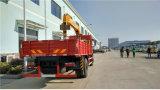 クレーンによって取付けられる貨物トラック