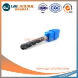 固体炭化物の球の鼻の端製造所HRC55-60