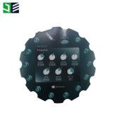Painel de controle do interruptor de membrana do painel da pia batismal do forno de micrôonda