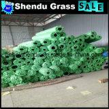 Gramado sintético barato 10mm da cor verde para a paisagem