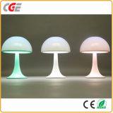 Lampe de bureau rechargeable multicolore de vente chaude de la lampe DEL de Tableau de la lampe DEL de livre de la lampe DEL de Tableau du champignon de couche DEL de la lumière USB du relevé de nuit de livre