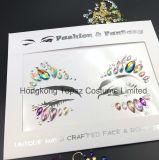 직업적인 피부 안전한 새해 당 눈 스티커 부족 작풍 3D 수정같은 바디는 보석으로 장식한다 마스크 Tatto 스티커 (E42)를