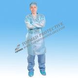 Grüne Wegwerfkleider, medizinisches Kleid für Krankenhaus-Gebrauch