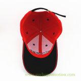 Саржа из 100% хлопка 3D Embriodery бейсбола Red Hat бейсбола винты с головкой