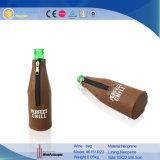 Singolo sacchetto della bottiglia di vino del neoprene con il ritratto (6151R2)