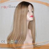 Bella parrucca superiore di seta dei capelli umani (PPG-l-0629)
