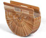 Женщин женская сумка из бамбука дамской сумочке