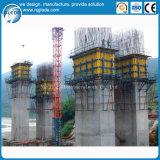架橋工事のためのH20ジャンプの型枠システム