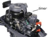 Barco inflable de la gasolina ampliamente utilizada del HP 20 con el motor externo
