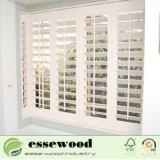 Basswood oder Belüftung-Plantage-Blendenverschluss-Fenster