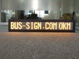 Table des messages électronique d'Afficheur LED programmable de la matrice de points 19*112 pour le bus