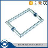 Yako Badezimmer-Serien-Dusche-ausgeglichenes Glas-Tür-Griff