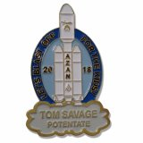 Emblema de folha de metal Ouro personalizado Badge Maker (W-43)