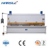 Chapa de ferro máquina de corte CNC hidráulico controlado por Estun