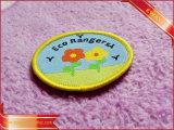 Vêtement tissé Cutom patch correctif pour le costume de vêtements de soie