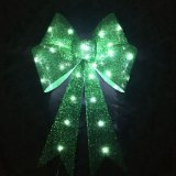 Ornamento de la decoración de la iluminación del árbol de navidad LED