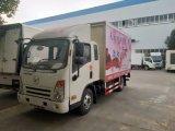 4X2 de rechtse Uitvoer van de Aandrijving naar Philipine Vrachtwagen van het Stadium van de Reclame Openlucht toont Vrachtwagen