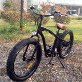 Bici eléctrica de la montaña de la pulgada 26*4.0 con el motor de 500With750With1000W Banfang