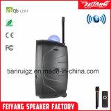 Chariot haut-parleur Bluetooth Rechargeable professionnel avec la bille Lumière La-F19m