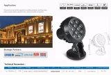 12W LED des Projektions-Licht-/LED Projektions-Licht IP65 Flut-des Licht-/LED
