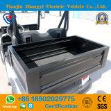 セリウム背部の貨物ボックスが付いている公認の小型2 Seaterの電気事業の手段