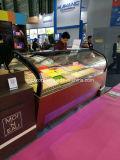 Congelador do indicador do bolo/congeladores comerciais do indicador do gelado