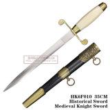 [إيوروبن] فارسة خنجر خنجر تاريخيّ [35كم] [هك6ف010]