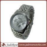 Los hombres de negocios Watchband Watch Reloj Calendario masculino Movimiento de cuarzo de la marca de relojes de moda