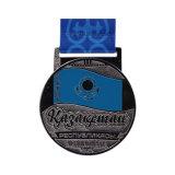 Forme unique placage argent brillant Club Médaille de souvenirs