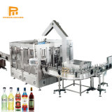 Pequeño Frasco de vidrio automático mascotas Agua Mineral / Soft bebidas carbonatadas y jugos de fruta de embotellado de llenado en caliente haciendo equipo/máquina de la línea de producción