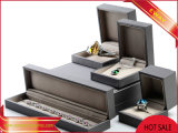 Rectángulos de la PU para las cajas de embalaje de la joyería de la manera de la joyería