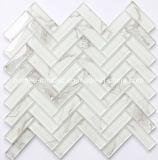 高品質の防水ヘリンボンガラスモザイク・タイル