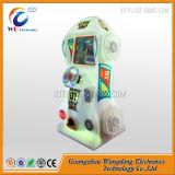 中国のプラシ天小型キャンデーのおもちゃの人形の爪クレーン自動販売機