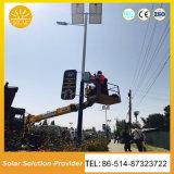 高品質50W 60W 70Wの鋼鉄ポーランド人が付いている太陽街灯